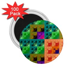 Pattern 2 25  Magnets (100 Pack)  by gasi