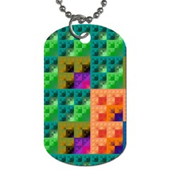 Pattern Dog Tag (two Sides) by gasi