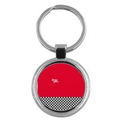 Racing Team Key Chains (round)  by gasi