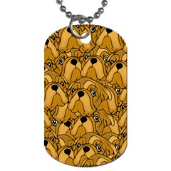 Bulldogge Dog Tag (one Side) by gasi