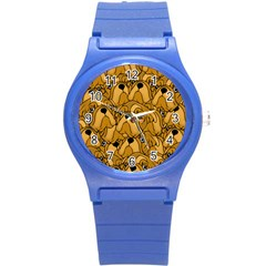 Bulldogge Round Plastic Sport Watch (s) by gasi