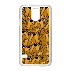 Bulldogge Samsung Galaxy S5 Case (white) by gasi