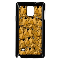 Bulldogge Samsung Galaxy Note 4 Case (black) by gasi
