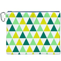 Pattern Canvas Cosmetic Bag (xxxl) by gasi