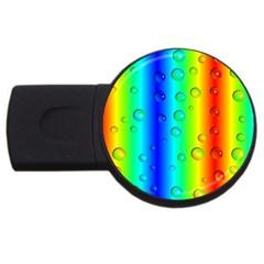 Pattern Usb Flash Drive Round (4 Gb) by gasi