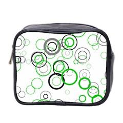 Pattern Mini Toiletries Bag 2 Side by gasi