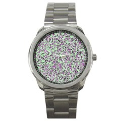Pattern Sport Metal Watch by gasi