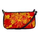 fall leaves clutch purse - Shoulder Clutch Bag