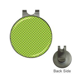 Pattern Hat Clips With Golf Markers by gasi