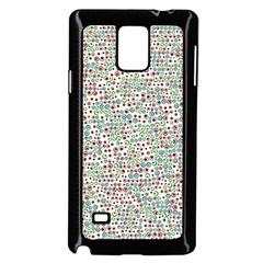 Pattern Samsung Galaxy Note 4 Case (black) by gasi