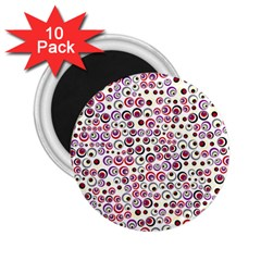 Pattern 2 25  Magnets (10 Pack)  by gasi