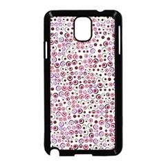 Pattern Samsung Galaxy Note 3 Neo Hardshell Case (black) by gasi