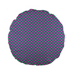 Pattern Standard 15  Premium Flano Round Cushions by gasi
