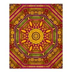 Sunshine Mandala And Other Golden Planets Shower Curtain 60  X 72  (medium)  by pepitasart