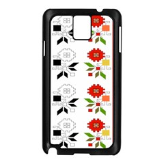 Bulgarian Folk Art Folk Art Samsung Galaxy Note 3 N9005 Case (black) by Celenk
