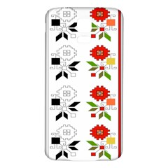 Bulgarian Folk Art Folk Art Samsung Galaxy S5 Back Case (white) by Celenk