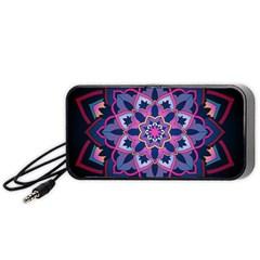Mandala Circular Pattern Portable Speaker by Celenk