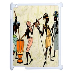 Man Ethic African People Collage Apple Ipad 2 Case (white) by Celenk