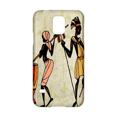 Man Ethic African People Collage Samsung Galaxy S5 Hardshell Case  by Celenk