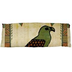 Egyptian Paper Papyrus Bird Body Pillow Case Dakimakura (two Sides) by Celenk