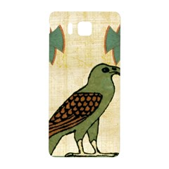 Egyptian Paper Papyrus Bird Samsung Galaxy Alpha Hardshell Back Case by Celenk