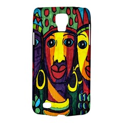 Ethnic Bold Bright Artistic Paper Galaxy S4 Active