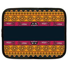 Pattern Ornaments Africa Safari Netbook Case (xxl)  by Celenk