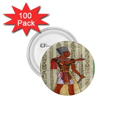 Egyptian Design Man Royal 1 75  Buttons (100 Pack)  by Celenk