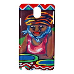 Ethnic Africa Art Work Drawing Samsung Galaxy Note 3 N9005 Hardshell Case by Celenk