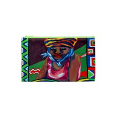 Ethnic Africa Art Work Drawing Cosmetic Bag (xs) by Celenk