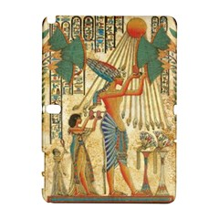 Egyptian Man Sun God Ra Amun Galaxy Note 1 by Celenk