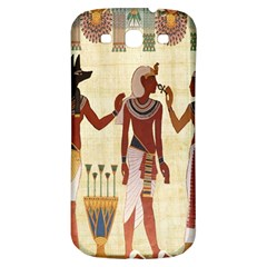 Egyptian Design Man Woman Priest Samsung Galaxy S3 S Iii Classic Hardshell Back Case by Celenk