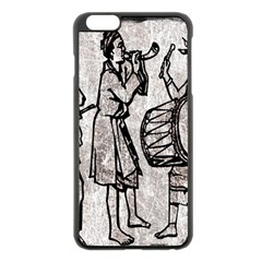 Man Ethic African People Collage Apple Iphone 6 Plus/6s Plus Black Enamel Case by Celenk
