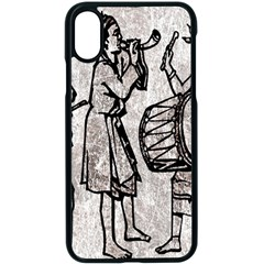 Man Ethic African People Collage Apple Iphone X Seamless Case (black) by Celenk