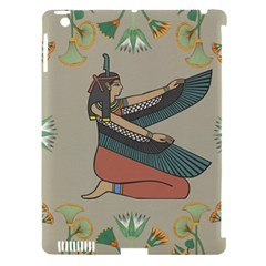 Egyptian Woman Wings Design Apple Ipad 3/4 Hardshell Case (compatible With Smart Cover)