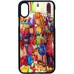 Guatemala Art Painting Naive Apple Iphone X Seamless Case (black) by Celenk