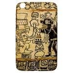 Mystery Pattern Pyramid Peru Aztec Font Art Drawing Illustration Design Text Mexico History Indian Samsung Galaxy Tab 3 (8 ) T3100 Hardshell Case