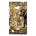 Mystery Pattern Pyramid Peru Aztec Font Art Drawing Illustration Design Text Mexico History Indian Nokia Lumia 720