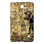 Mystery Pattern Pyramid Peru Aztec Font Art Drawing Illustration Design Text Mexico History Indian Samsung Galaxy Tab 4 (8 ) Hardshell Case