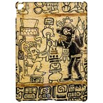 Mystery Pattern Pyramid Peru Aztec Font Art Drawing Illustration Design Text Mexico History Indian Apple iPad Pro 12.9   Hardshell Case