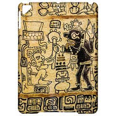 Mystery Pattern Pyramid Peru Aztec Font Art Drawing Illustration Design Text Mexico History Indian Apple Ipad Pro 9 7   Hardshell Case by Celenk