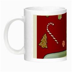 Hilarious Holidays  Night Luminous Mugs by Valentinaart
