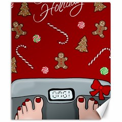 Hilarious Holidays  Canvas 20  X 24   by Valentinaart