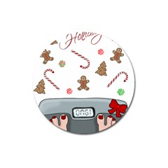 Hilarious Holidays  Magnet 3  (round) by Valentinaart