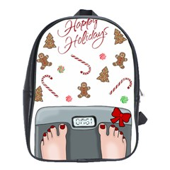 Hilarious Holidays  School Bag (large) by Valentinaart