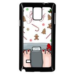 Hilarious Holidays  Samsung Galaxy Note 4 Case (black) by Valentinaart