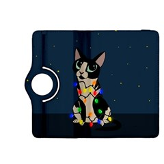 Meowy Christmas Kindle Fire Hdx 8 9  Flip 360 Case by Valentinaart