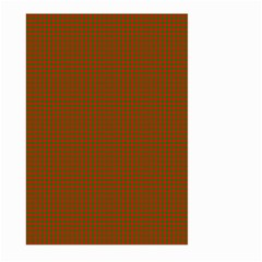 Classic Christmas Red And Green Houndstooth Check Pattern Large Garden Flag (two Sides) by PodArtist