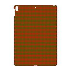 Classic Christmas Red And Green Houndstooth Check Pattern Apple Ipad Pro 10 5   Hardshell Case by PodArtist