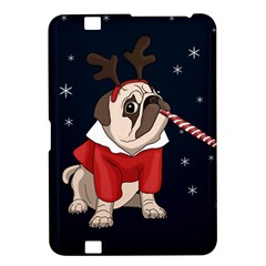 Pug Xmas Kindle Fire Hd 8 9  by Valentinaart